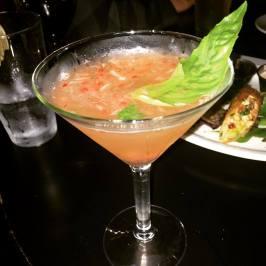 Berry Basil Martini